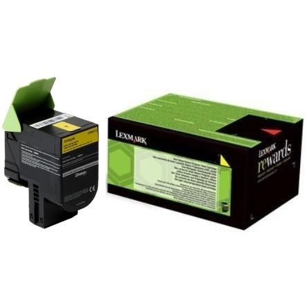 24B6010 Toner Cartridge - Lexmark Genuine OEM (Yellow)