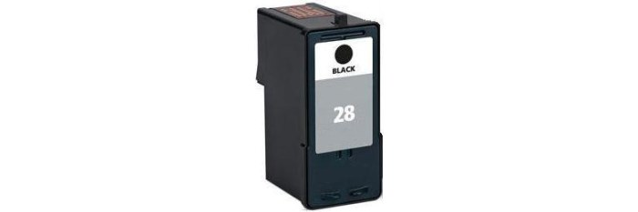 Lexmark #28 Ink Cartridge - Lexmark Remanufactured (Black)
