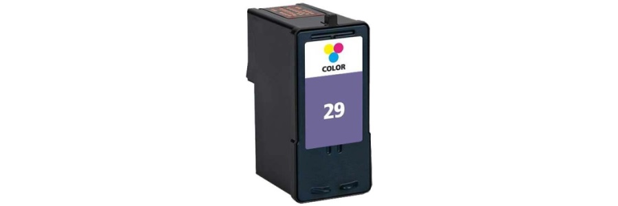 Lexmark #29 Ink Cartridge - Lexmark Remanufactured (Color)