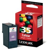Lexmark #35 Ink Cartridge - Lexmark Genuine OEM (Color)