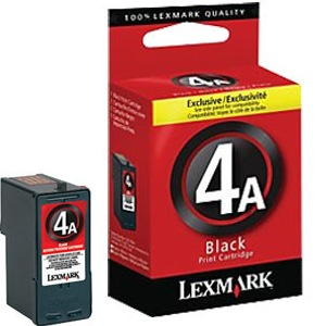 Lexmark #4 Ink Cartridge - Lexmark Genuine OEM (Black)