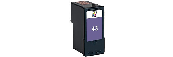 Lexmark #43XL Ink Cartridge - Lexmark Remanufactured (Color)