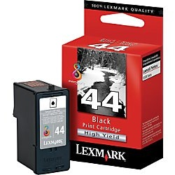 Lexmark #44XL Ink Cartridge - Lexmark Genuine OEM (Black)