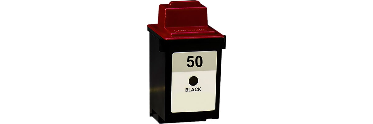 Lexmark #50 Ink Cartridge - Lexmark Remanufactured (Black)