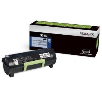 50F1X00 Toner Cartridge - Lexmark Genuine OEM (Black)
