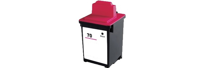 Lexmark #70 Ink Cartridge - Lexmark Remanufactured (Black)