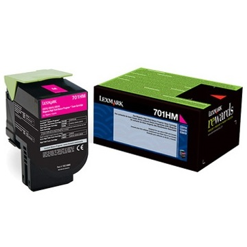 70C1HM0 Toner Cartridge - Lexmark Genuine OEM (Magenta)