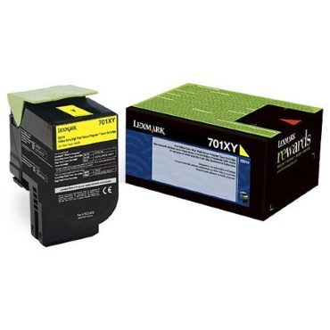 70C1XY0 Toner Cartridge - Lexmark Genuine OEM (Yellow)