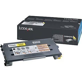 C500H2YG Toner Cartridge - Lexmark Genuine OEM (Yellow)
