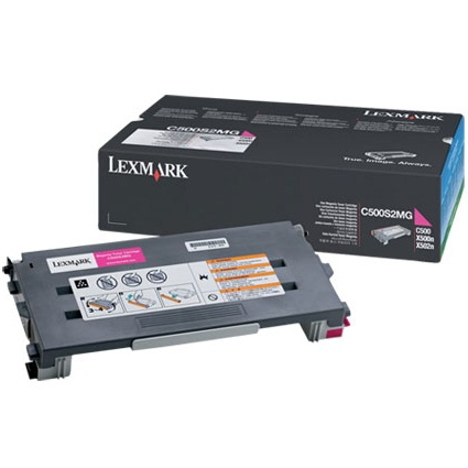 C500S2MG Toner Cartridge - Lexmark Genuine OEM (Magenta)
