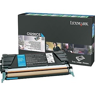 C5220CS Toner Cartridge - Lexmark Genuine OEM (Cyan)