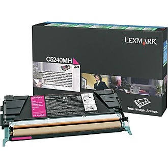 C5240MH Toner Cartridge - Lexmark Genuine OEM (Magenta)