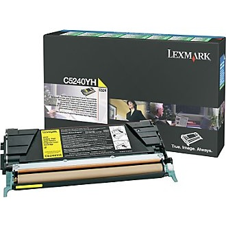 C5240YH Toner Cartridge - Lexmark Genuine OEM (Yellow)