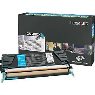 C5340CX Toner Cartridge - Lexmark Genuine OEM (Cyan)