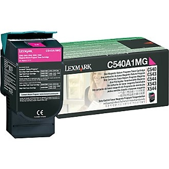 C540A1MG Toner Cartridge - Lexmark Genuine OEM (Magenta)