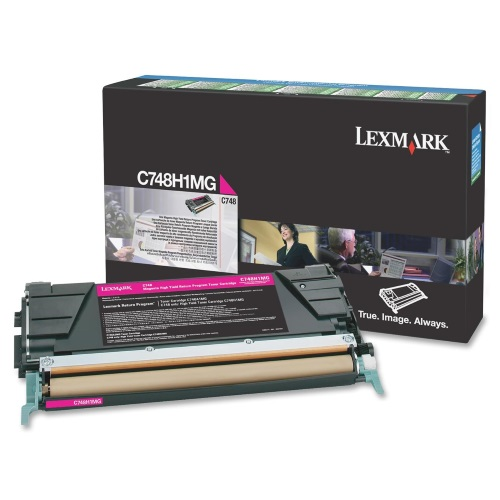 C748H1MG Toner Cartridge - Lexmark Genuine OEM (Magenta)