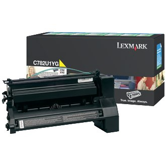 C782U1YG Toner Cartridge - Lexmark Genuine OEM (Yellow)