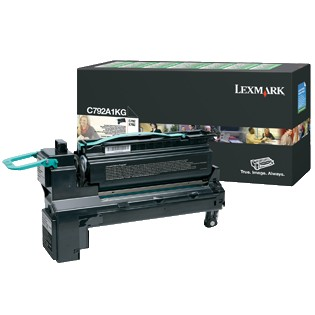 C792A1KG Toner Cartridge - Lexmark Genuine OEM (Black)