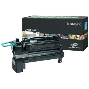 C792X1KG Toner Cartridge - Lexmark Genuine OEM (Black)