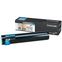C930H2CG Toner Cartridge - Lexmark Genuine OEM (Cyan)