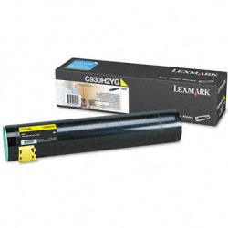 C930H2YG Toner Cartridge - Lexmark Genuine OEM (Yellow)