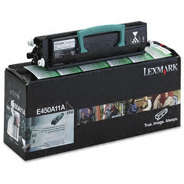 E450A11A Toner Cartridge - Lexmark Genuine OEM (Black)