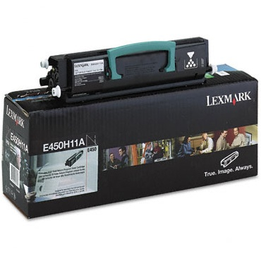 E450H11A Toner Cartridge - Lexmark Genuine OEM (Black)