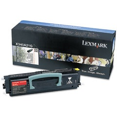 X340A21G Toner Cartridge - Lexmark Genuine OEM (Black)