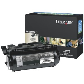 X644X11A Toner Cartridge - Lexmark Genuine OEM (Black)