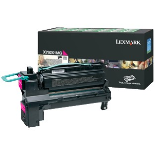 X792X1MG Toner Cartridge - Lexmark Genuine OEM (Magenta)