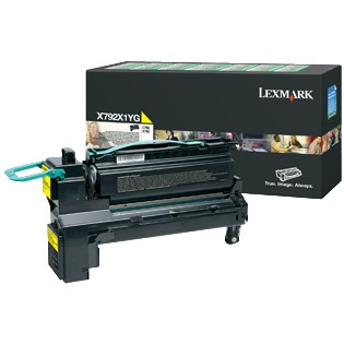 X792X1YG Toner Cartridge - Lexmark Genuine OEM (Yellow)
