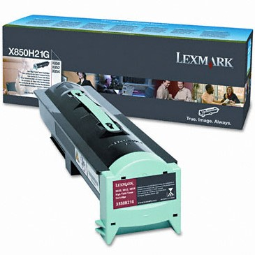 X850H21G Toner Cartridge - Lexmark Genuine OEM (Black)