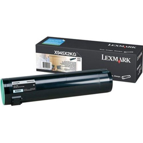 X945X2KG Toner Cartridge - Lexmark Genuine OEM (Black)