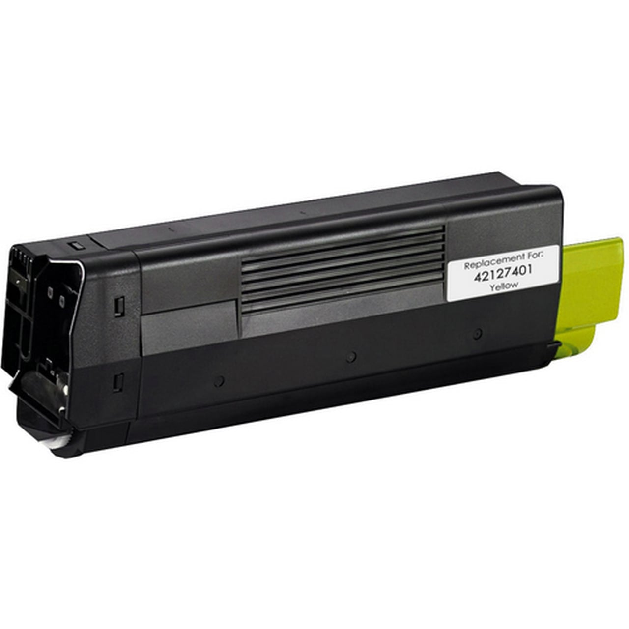 42127401 Toner Cartridge - Okidata Remanufactured  (Yellow)