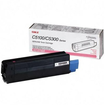 42127402 Toner Cartridge - Okidata Genuine OEM (Magenta)