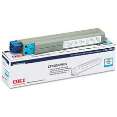 42918903 Toner Cartridge - Okidata Genuine OEM (Cyan)