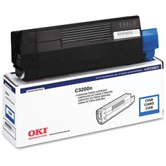 43034803 Toner Cartridge - Okidata Genuine OEM (Cyan)