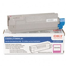 43324402 Toner Cartridge - Okidata Genuine OEM (Magenta)