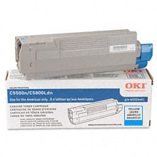 43324403 Toner Cartridge - Okidata Genuine OEM (Cyan)