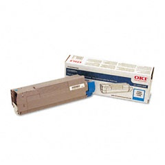 43324468 Toner Cartridge - Okidata Genuine OEM (Cyan)