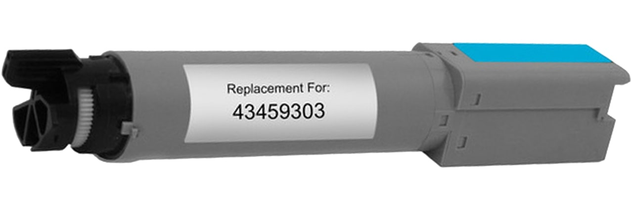 43459303 Toner Cartridge - Okidata Remanufactured (Cyan)