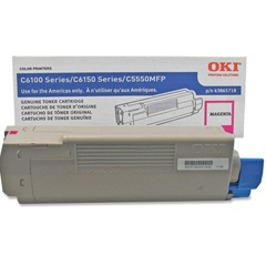 43865718 Toner Cartridge - Okidata Genuine OEM (Magenta)