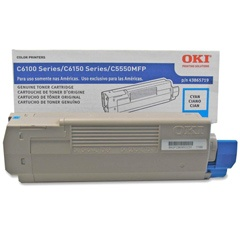 43865719 Toner Cartridge - Okidata Genuine OEM (Cyan)