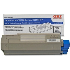 43865720 Toner Cartridge - Okidata Genuine OEM (Black)