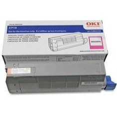 43866102 Toner Cartridge - Okidata Genuine OEM (Magenta)