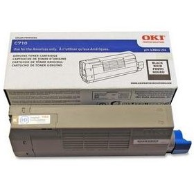 43866104 Toner Cartridge - Okidata Genuine OEM (Black)