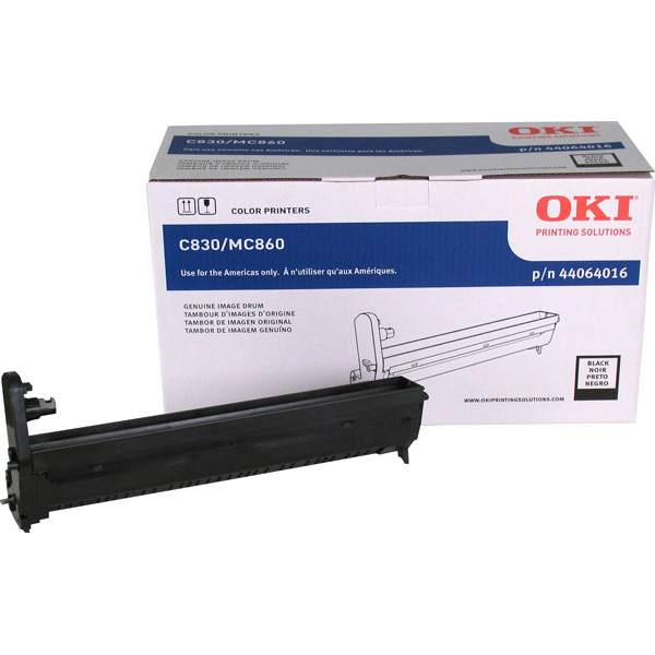 44064016 Image Drum - Okidata Genuine OEM (Black)