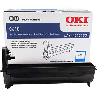 44315103 Imaging Drum - Okidata Genuine OEM (Cyan)