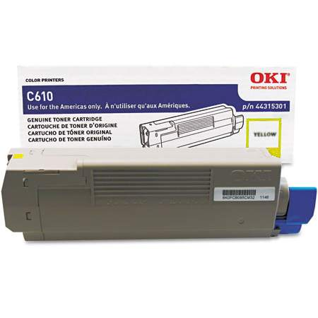 44315301 Toner Cartridge - Okidata Genuine OEM (Yellow)