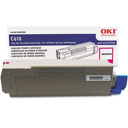 44315302 Toner Cartridge - Okidata Genuine OEM (Magenta)